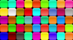 Stock Video Footage of Buttons Background, Seamless Loop