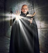Priest gives off light Kuvituskuvat
