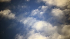 Clouds fog steam Stock Footage