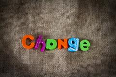 Change Dictionary Definition Low key close up - stock photo