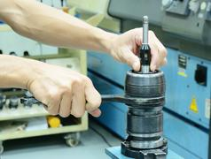 Hand Disassembly Collet - stock photo