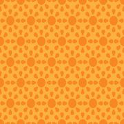 Vector seamless wallpaper with suns - stock illustration