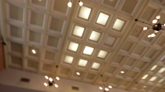 Main Street Station Interior Stock Footage