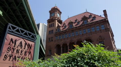 Main Street Station in Richmond Virginia Stock Footage