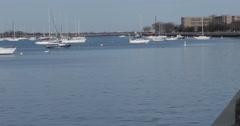 4K, Sheepshead bay, NY,  Spring walk Stock Footage