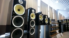 professional sound system - stock footage
