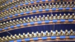 Stock Video Footage of View of conveyer belt.