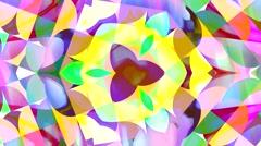 Kaleidoscope movement abstract background  Stock Footage