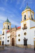 Church of Socorro in Ronda Stock Photos