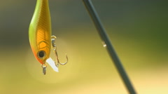 Angling bait - stock footage