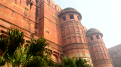 Agra Fort - stock footage