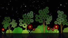 Stock Video Footage of Kids TV Studio Set 01 - Virtual Green Screen Background Loop