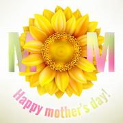 Stock Illustration of Happy Mothers day Background. EPS 10