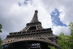 The Eiffel Tower - stock photo