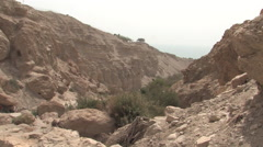 Ein Gedi, Israel - stock footage