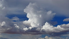 4K Thunderstorm Timelapse 02 Clouds Forming - stock footage