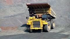 Heavy vehicles Stock Footage