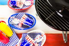 July fourth - stock photo
