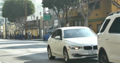 4k Skid Row Downtown Los Angeles - stock footage