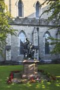 Statue of Sir Benjamin Lee Guinness in Saint Patricks Cathedral Stock Photos