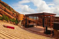 Red Rocks Amphitheater Stock Photos
