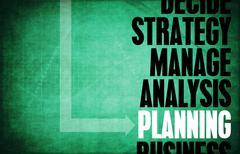 Planning Stock Illustration