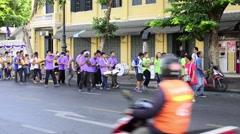 Ordination parade Stock Footage