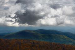 Mountainous landscape. - stock photo