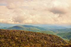 Mountainous landscape. Stock Photos