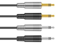 Stock Illustration of stereo plug