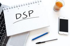 Demand Side Platform - stock illustration
