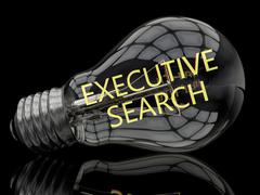 Executive Search - stock illustration