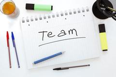 Team - stock illustration