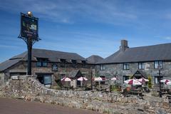 Jamaica Inn, Cornwall's legendary coaching house Stock Photos