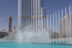 Burj Khalifa-tallest building in the world Stock Photos