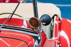 car horn - stock photo