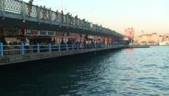 Bosphorus Bridge, Istanbul Stock Footage