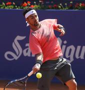 Italian tennis player Fabio Fognini Stock Photos