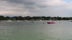 Hamble River - stock footage