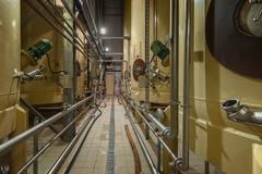 Industrial interior with welded silos Kuvituskuvat