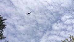 Helicopter Flying Over - With Original Sound HD (Good Price) Stock Footage