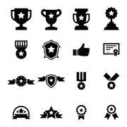 Award icon Stock Illustration