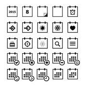 Calendar Icon - stock illustration