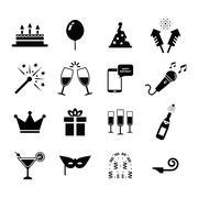Celebration Icon Stock Illustration