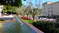 Riva del Garda, Lake Garda, Italy Stock Footage
