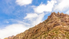 Time Lapse at Red Rock Canyon Stock Footage