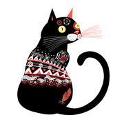 Black cat Piirros