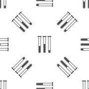 Test-tubes pattern - stock illustration