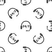 Support pattern Stock Illustration