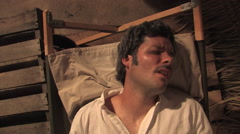 Reenactment of David Livingstone's Death Stock Footage